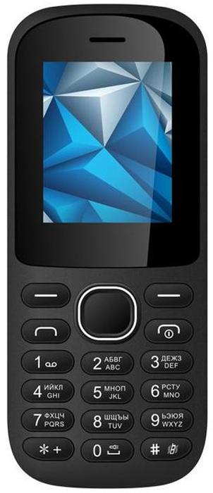 Vertex M112, Black мобильный телефон vertex d503 черный 2 4