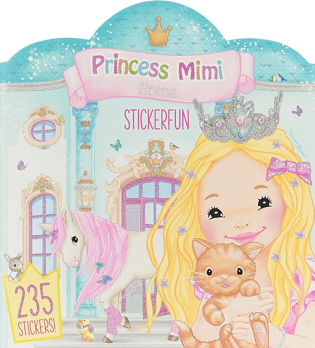 Depesche Набор наклеек My Style Princess Mimi Дом принцессы Мими наклейки детские depesche альбом topmodel fantasy мир стикеров с наклейками