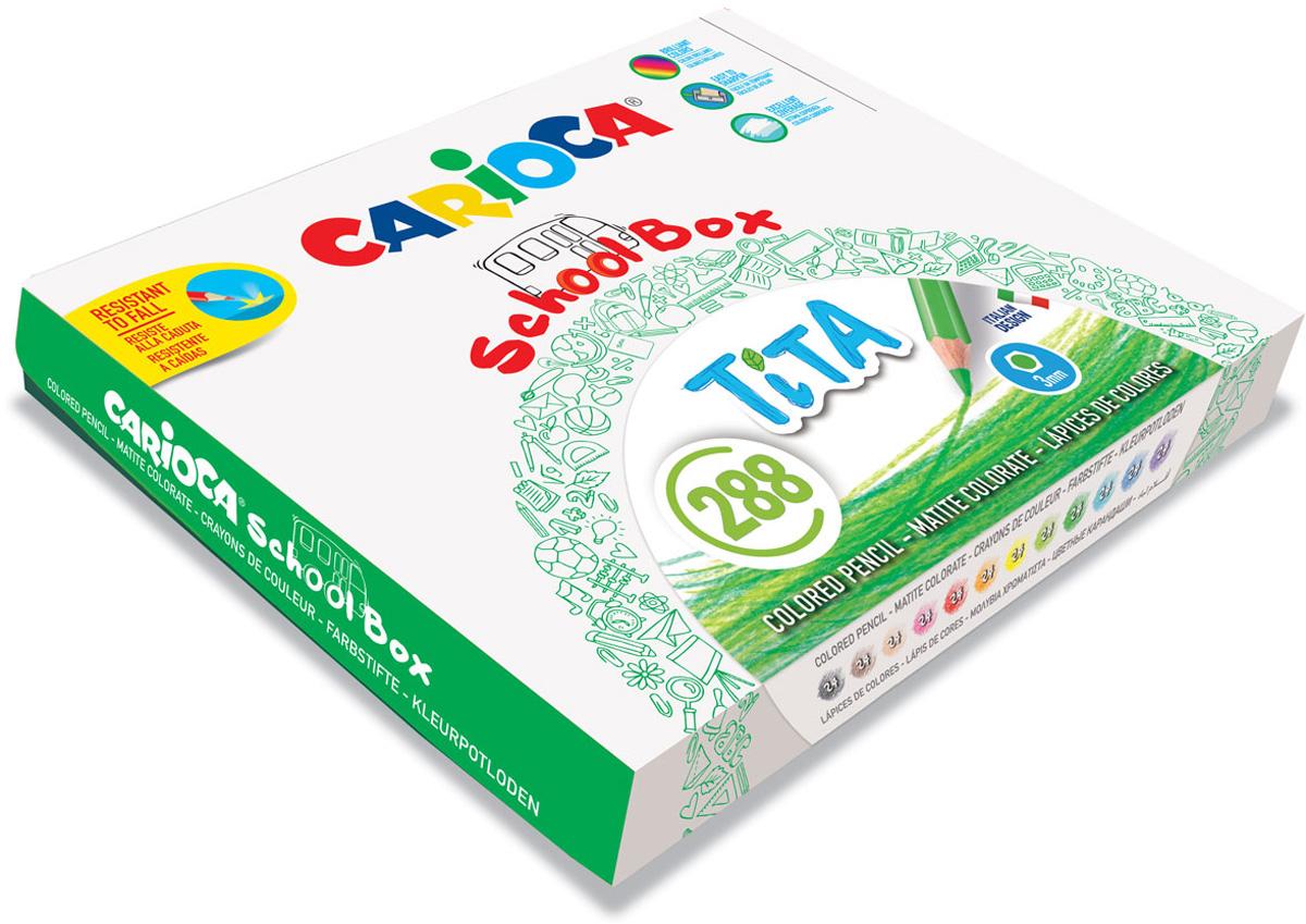 Carioca Набор цветных карандашей Tita 12 цветов 288 шт