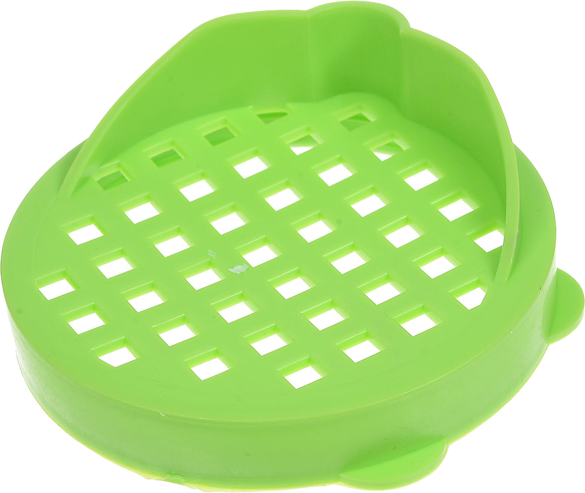 Крышка для слива банок Альтернатива, цвет: салатовый ящик универсальный альтернатива раскладной цвет салатовый 38 5 х 25 5 х 21 см