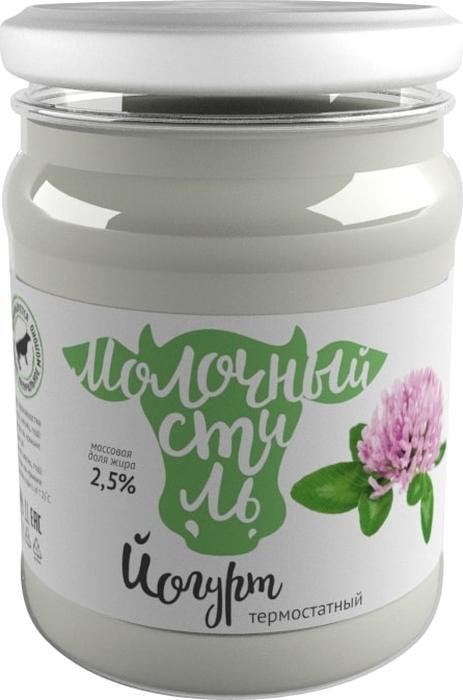 Молочный стиль Йогурт натуральный 2,5%, 125 г молоко