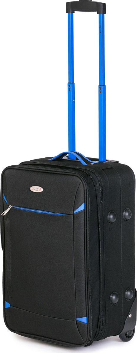 Чемодан Baudet, цвет: черный, 51 х 35 х 18,5 см, 39,2 л чемодан для ручной клади sunvoyage venice sv015 ac028 20
