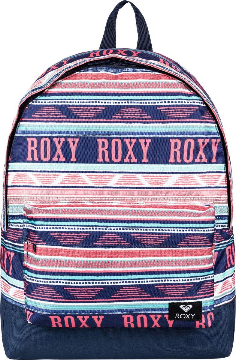 Рюкзак женский Roxy, цвет: белый. ERJBP03728-XWBG гидрокостюм комбинезон женский roxy 3 2mm xybfull light orchid fog page 1