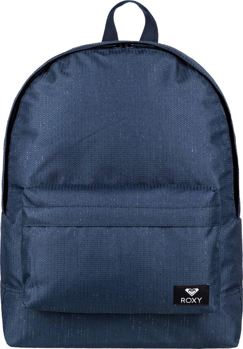 Рюкзак женский Roxy, цвет: синий. ERJBP03730-BTK0 roxy брюки roxy backyard pt j snpt wbb0 сноубордические женские bright white m
