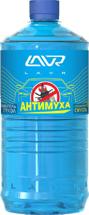 Купить Омыватель стекол LAVR Crystal , анти-муха, концентрат, 1 л