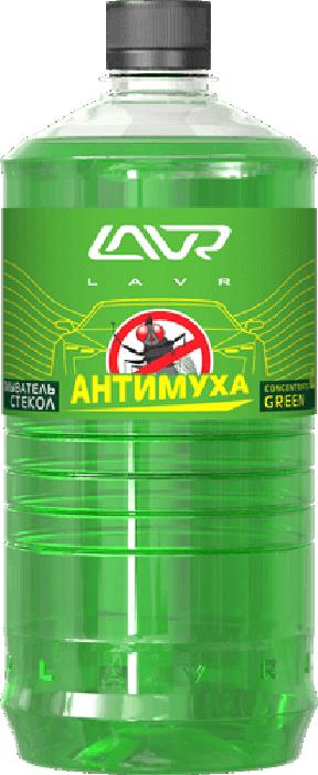 Купить Омыватель стекол LAVR Green , анти-муха, концентрат, 1 л