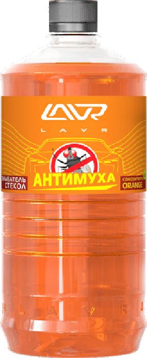 Купить Омыватель стекол LAVR Orange , анти-муха, концентрат, 1 л