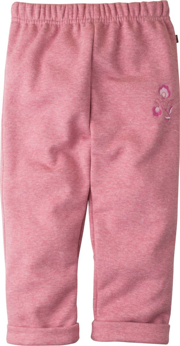Брюки для новорожденных Bossa Nova Клюква, цвет: розовый меланж. 492Б-460м. Размер 74