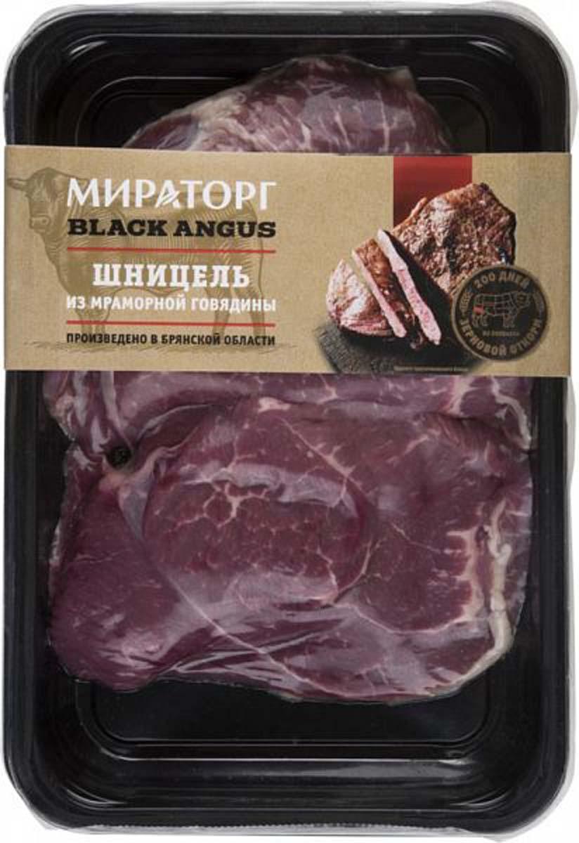 Шницель из мраморной говядины Black Angus Мираторг, 430 г