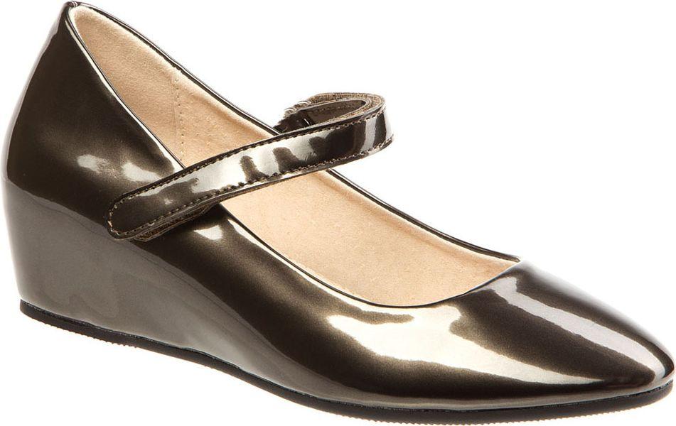 Туфли для девочки Keddo, цвет: темно серый. 578118/02-02. Размер 38
