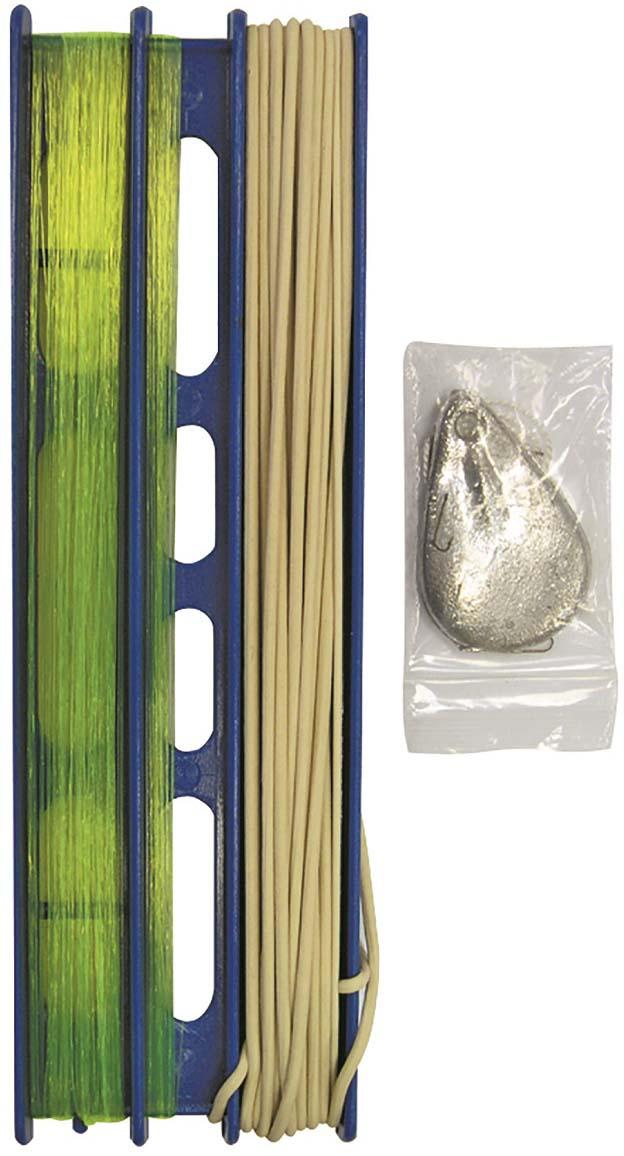 Донка оснащенная, с резиной, 2.0 мм