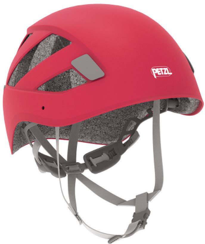 Каска альпинистская Petzl Boreo, цвет: красный. Размер M/L каска petzl petzl vertex vent hi viz желтый