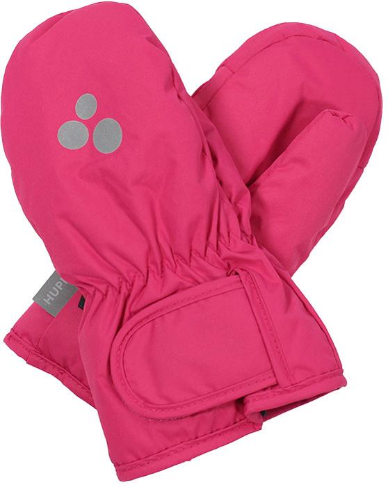 Перчатки для девочки Huppa Liina, цвет: фуксия. 8104BASE-60063. Размер 5