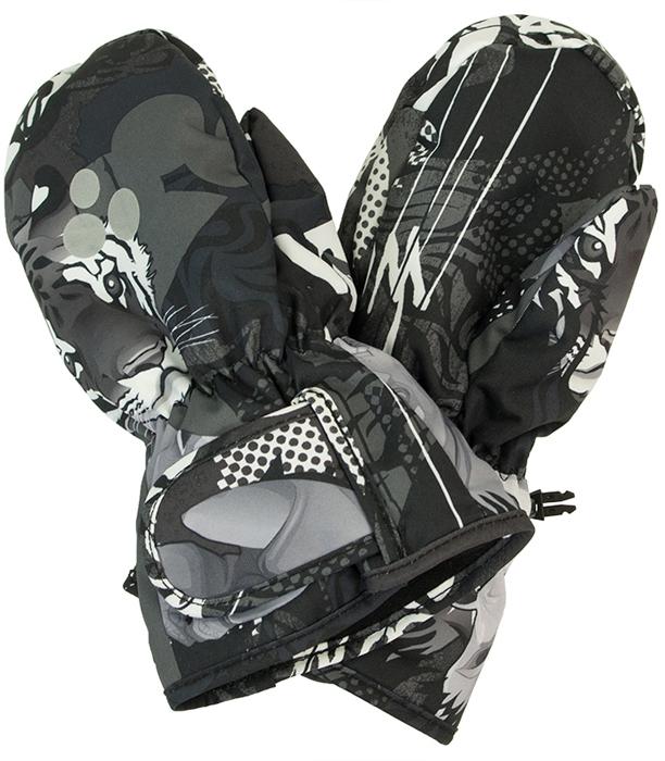 Перчатки для мальчика Huppa Liina, цвет: темно-серый. 8104BASE-82818. Размер 2