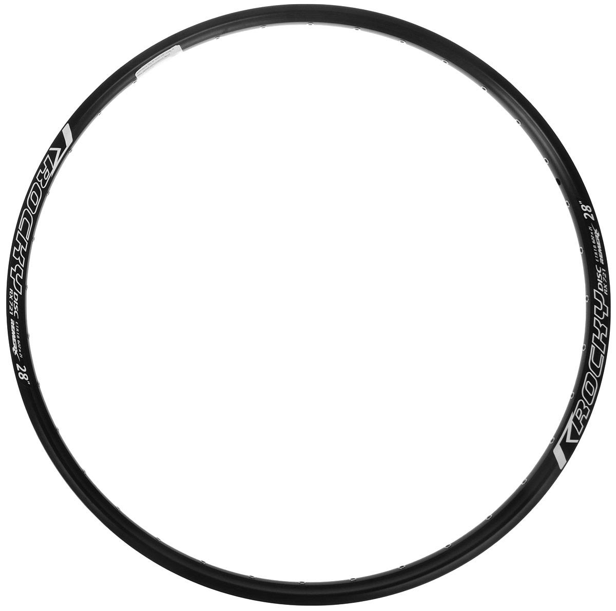 Обод Remerx, 28, GRAND ROCK, 622x19, 36 спиц, двойной, с индикатором износа, цвет: черный. RD29b36-RD