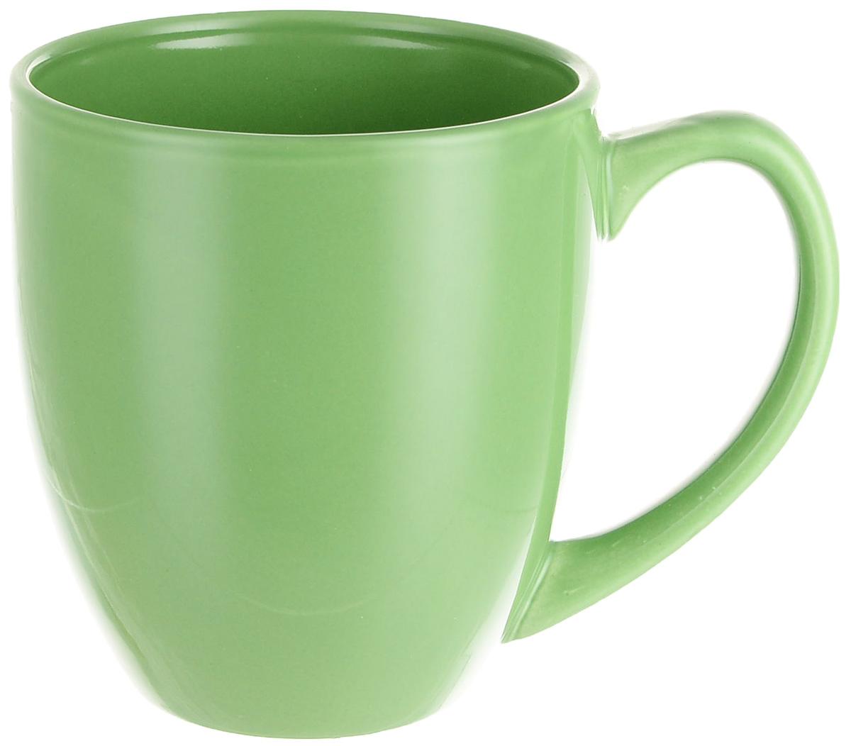 Кружка МФК-профит Color, цвет: зеленый, 425 мл кружка мфк профит трапеза 400 мл