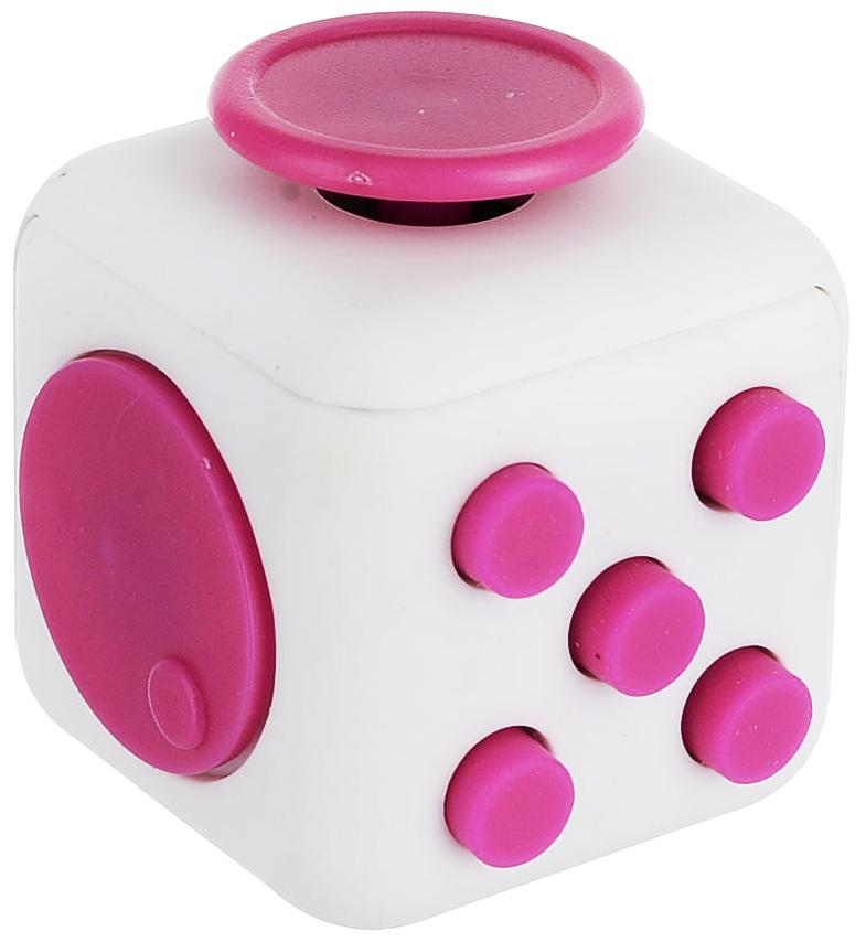 ABtoys Антистрессовая игрушка Кубик цвет фуксия
