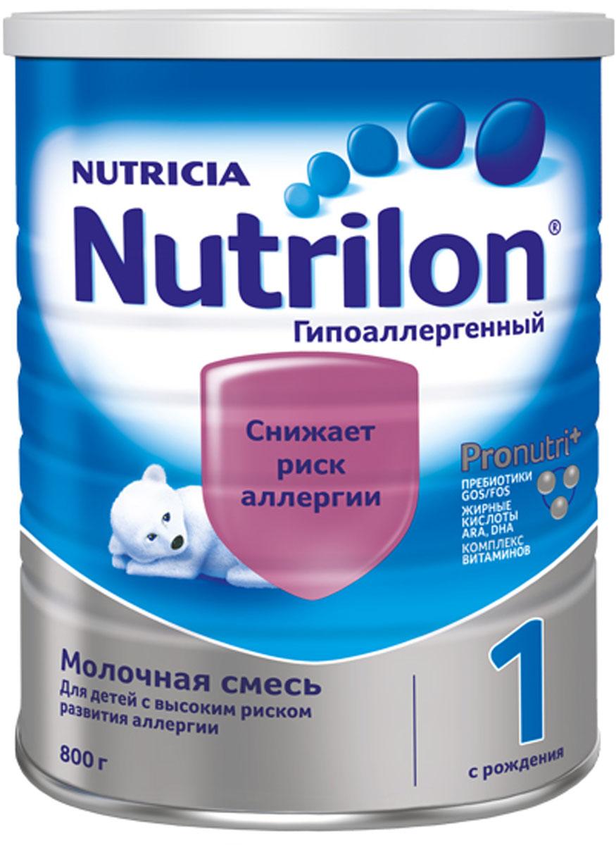 Смесь Nutrilon Гипоаллергенный 2, 800 г молочные смеси nutrilon молочная смесь nutrilon гипоаллергенный 2 с 6 месяцев 800 г