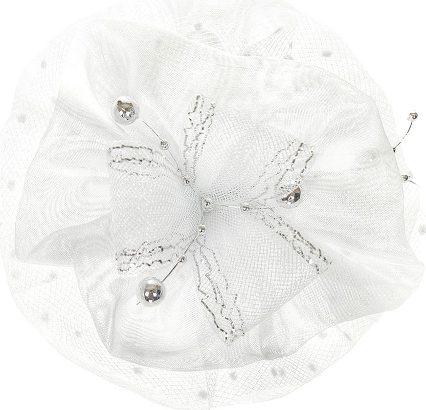 Бант для волос Arco Carino, цвет: белый. AC154 блуза vittoria vicci vittoria vicci vi049ewbfvk4