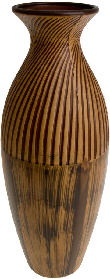Ваза декоративная ArtHouse Шоколадный мусс, цвет: коричневый, высота 40,5 см ваза декоративная arthouse пастель цвет коричневый высота 39 см
