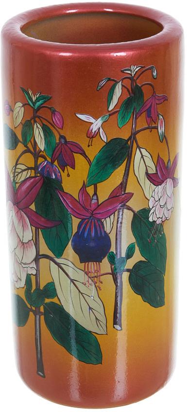 Ваза декоративная ENS Group Фуксия, высота 30,5 см ens group декоративная свеча devereux 6х12 см