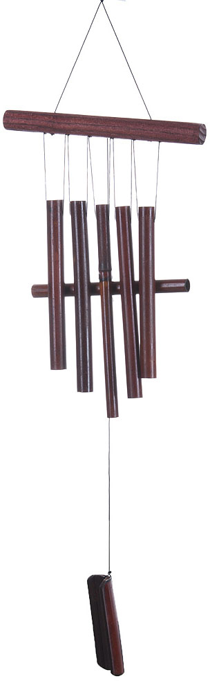 Украшение декоративное Музыка ветра, цвет: коричневый. 3330041