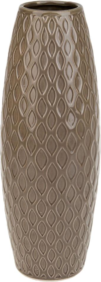 Ваза декоративная ArtHouse Пастель, цвет: коричневый, высота 39 см ваза декоративная arthouse пастель цвет коричневый высота 39 см