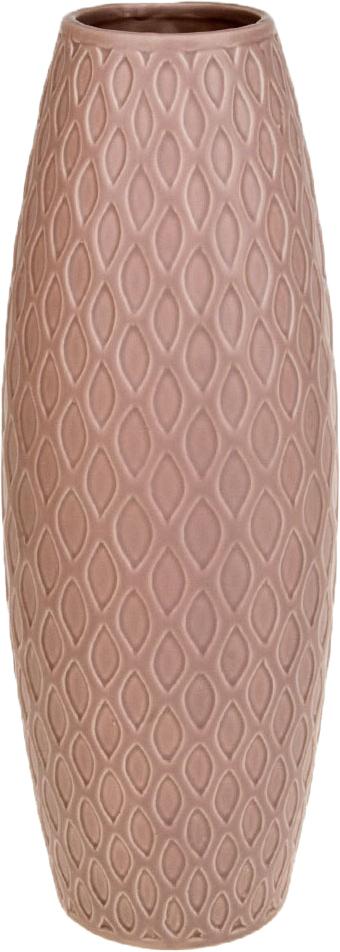 Ваза декоративная ArtHouse Пастель, цвет: розовый, высота 39 см. 860022 ваза декоративная arthouse пастель цвет коричневый высота 39 см