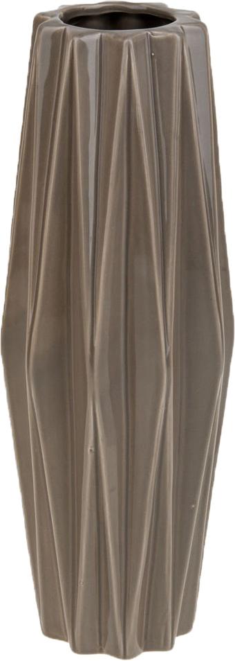 Ваза декоративная ArtHouse Пастель, цвет: светло-коричневый, высота 33 см ваза декоративная феникс презент цвет белый коричневый высота 13 см