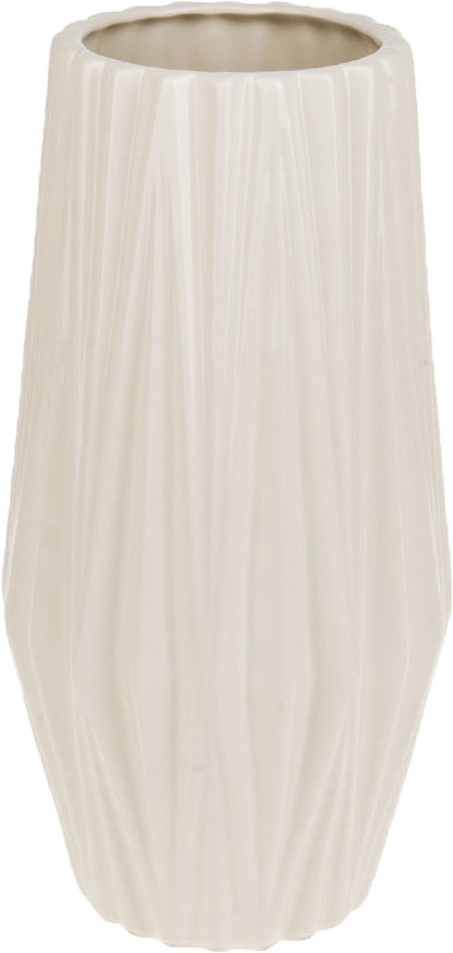 Ваза декоративная ArtHouse Пастель, цвет: белый, высота 31 см ваза декоративная helga 1 стекло 16х20 см