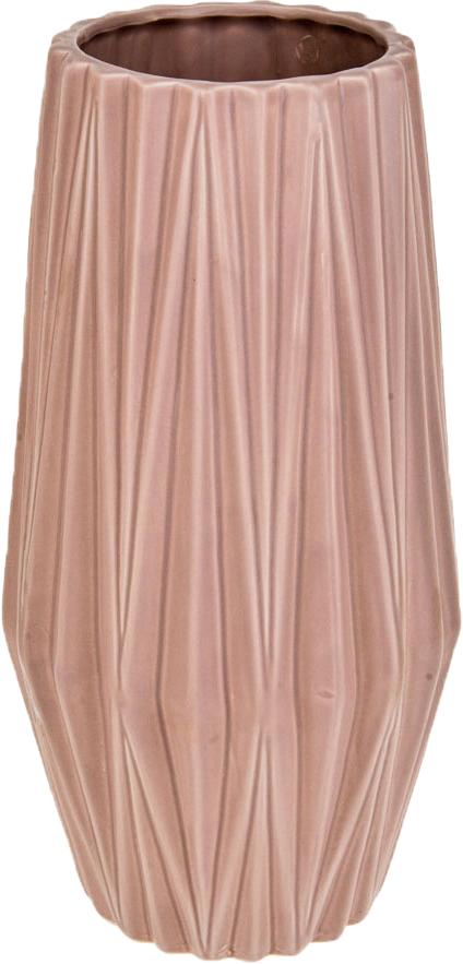 Ваза декоративная ArtHouse Пастель, цвет: розовый, высота 31 см ваза декоративная arthouse пастель цвет коричневый высота 39 см