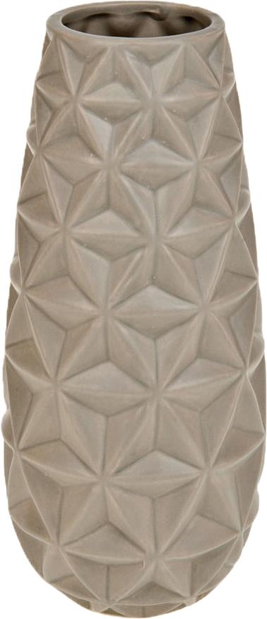 Ваза декоративная ArtHouse Пастель, цвет: светло-бежевый, высота 24 см ваза декоративная arthouse пастель цвет коричневый высота 39 см