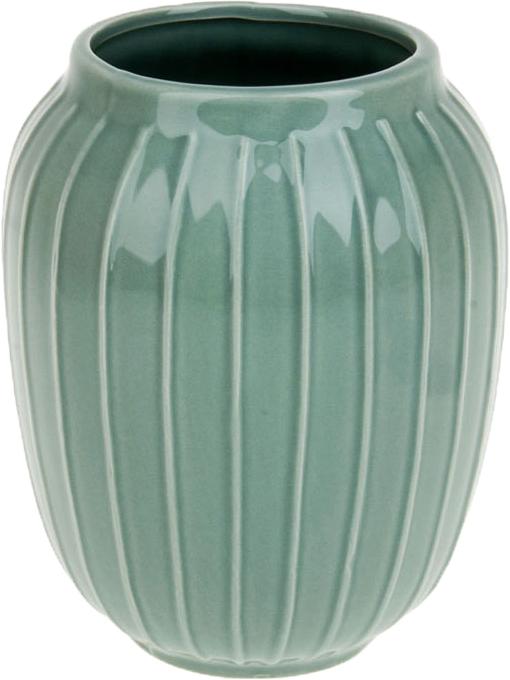 Ваза декоративная ArtHouse Пастель, цвет: зеленый, высота 19 см ваза декоративная arthouse пастель цвет коричневый высота 39 см