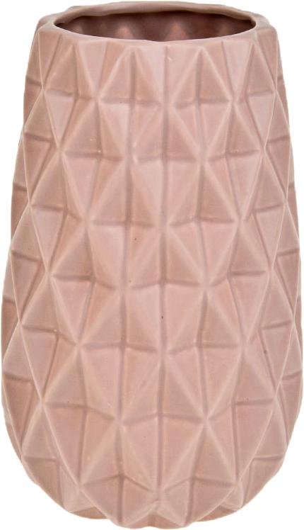 Ваза декоративная ArtHouse Пастель, цвет: светло-розовый, высота 23 см