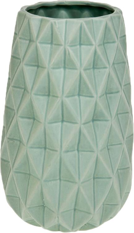 Ваза декоративная ArtHouse Пастель, цвет: светло-зеленый, высота 23 см