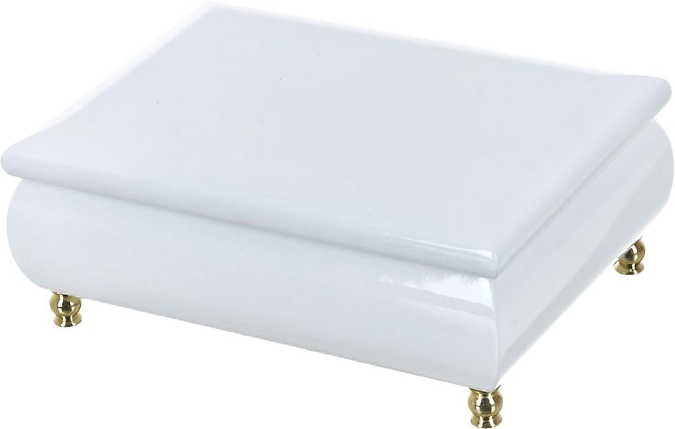 Шкатулка для ювелирных украшений ArtHouse Сливки, цвет: белый, 18 х 13 х 7,5 см шкатулка для украшений arthouse шкатулка для украшений