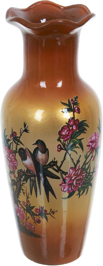 Ваза декоративная ENS Group Птицы, высота 34,5 см ens group декоративная свеча devereux 6х12 см