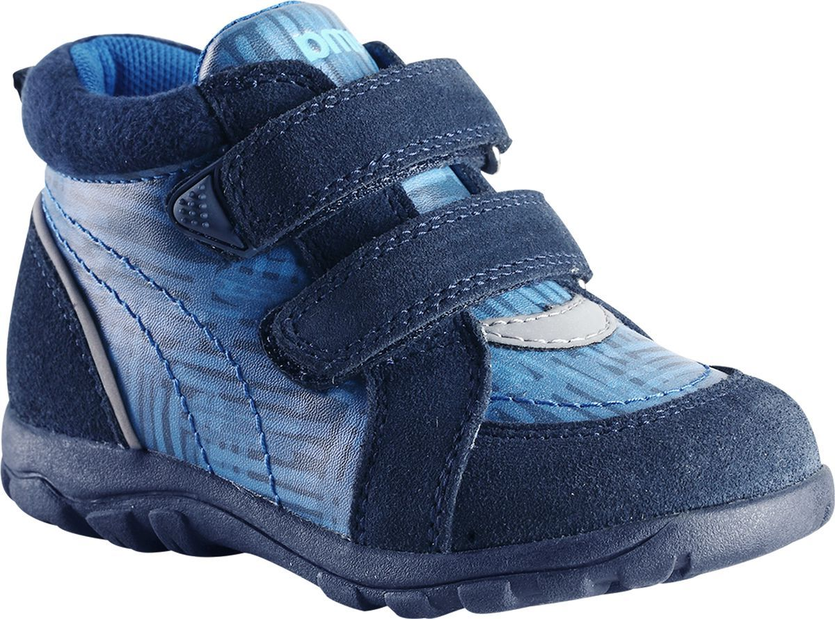 Ботинки детские Reima Lotte, цвет: синий. 5693506981. Размер 22