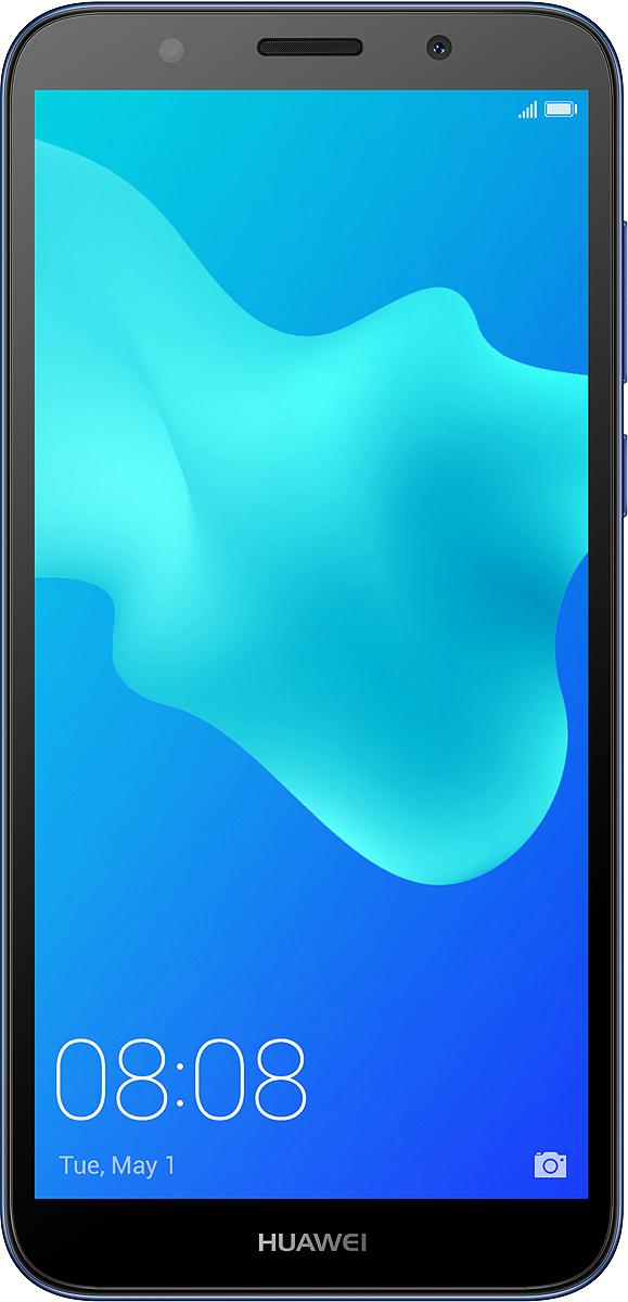 Смартфон Huawei Y5 Prime 2018, Blue смартфон huawei y5 prime 2018 dra lx2 gold