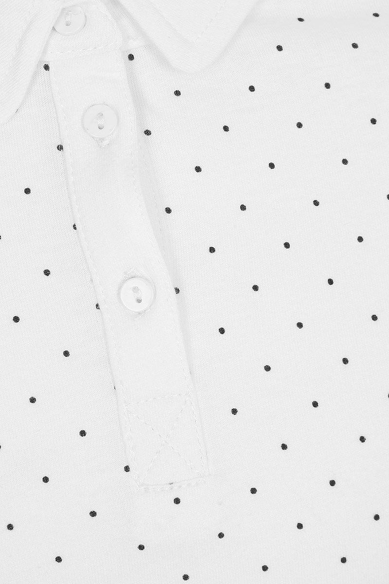Блузка для девочки Sela, цвет:  молочный.  Tp-611/1275-8310.  Размер 128 Sela