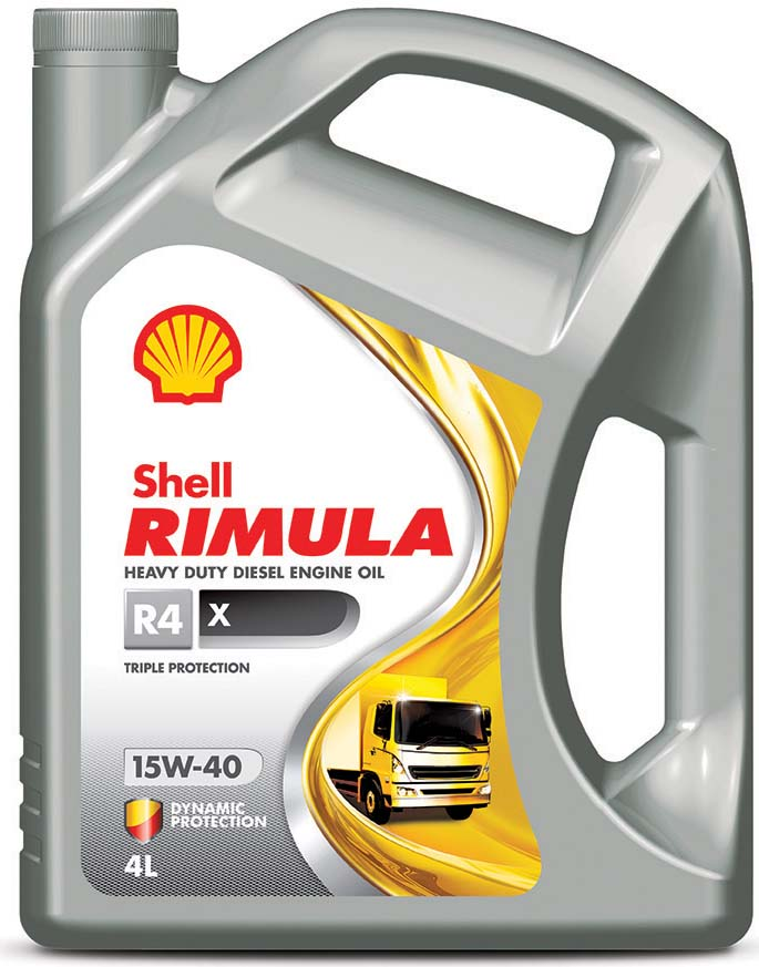 Купить Масло моторное Shell Rimula R4 X 15W/40, 4 л