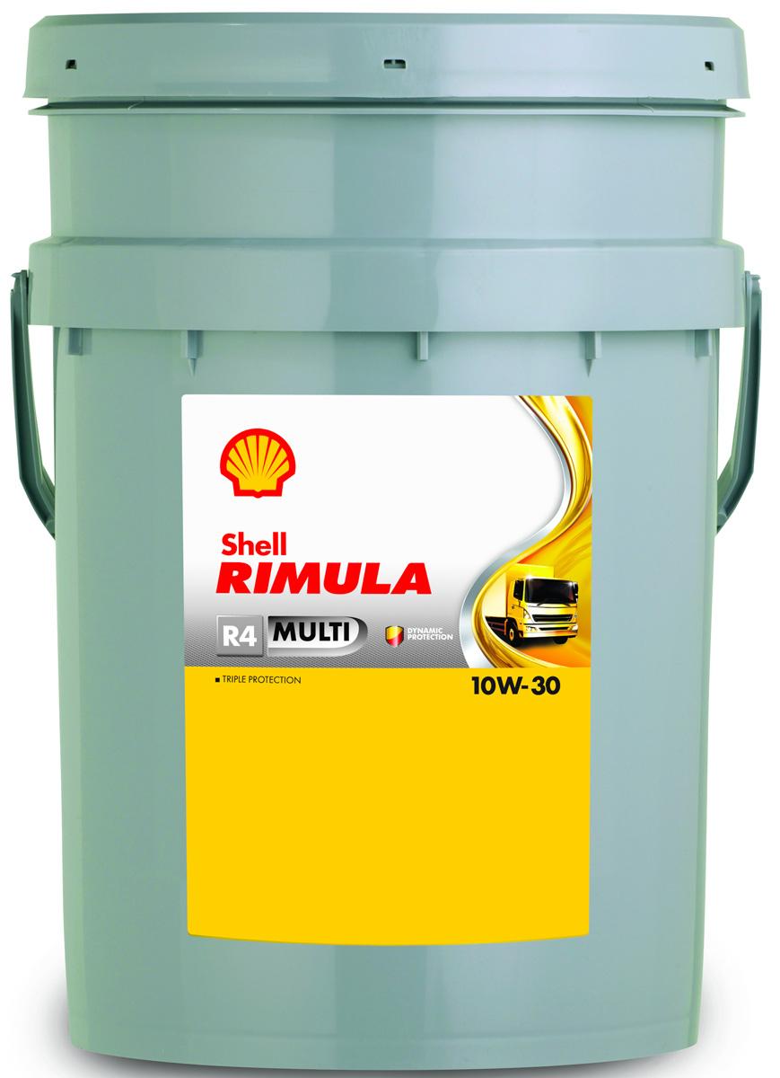 Купить Масло моторное Shell (автомобильное) Rimula R4 Multi 10W/30, 20 л