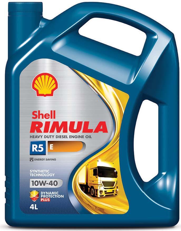 Купить Масло моторное Shell для дизельных двигателей Rimula R5 E 10W/40, 4 л