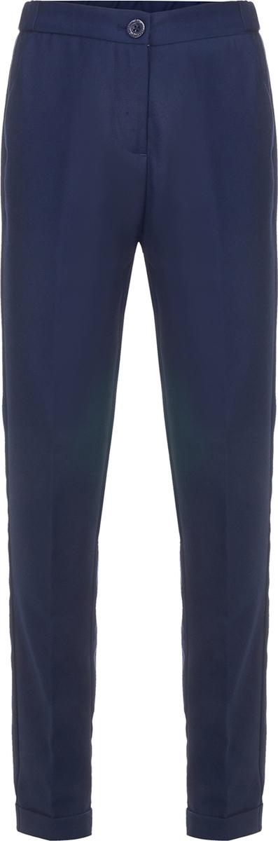 Брюки для девочки Button Blue, цвет: синий. 218BBGS63011000. Размер 128