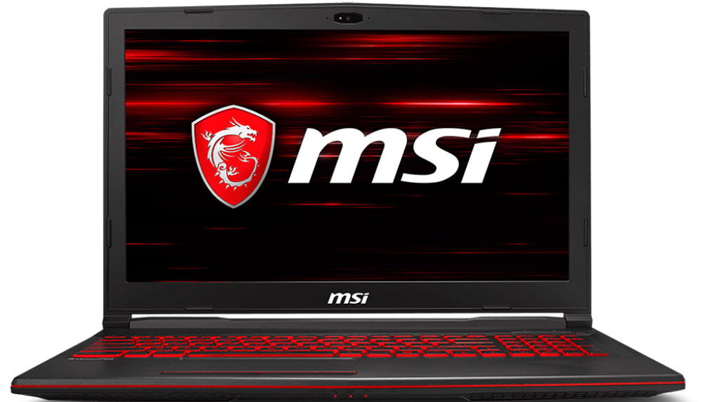 MSI GL63 8RC, Black (GL63 8RC-468XRU)