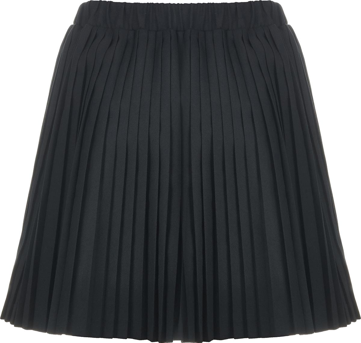 Юбка для девочки Button Blue, цвет: черный. 218BBGS61020800. Размер 152 Button Blue