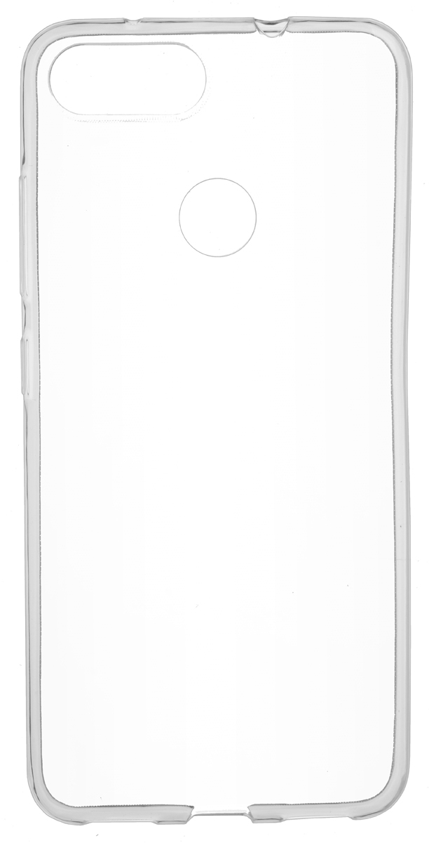 цена на Skinbox Slim Silicone 4People чехол для Asus ZenFone Max Plus (M1) ZB570TL, Transparent
