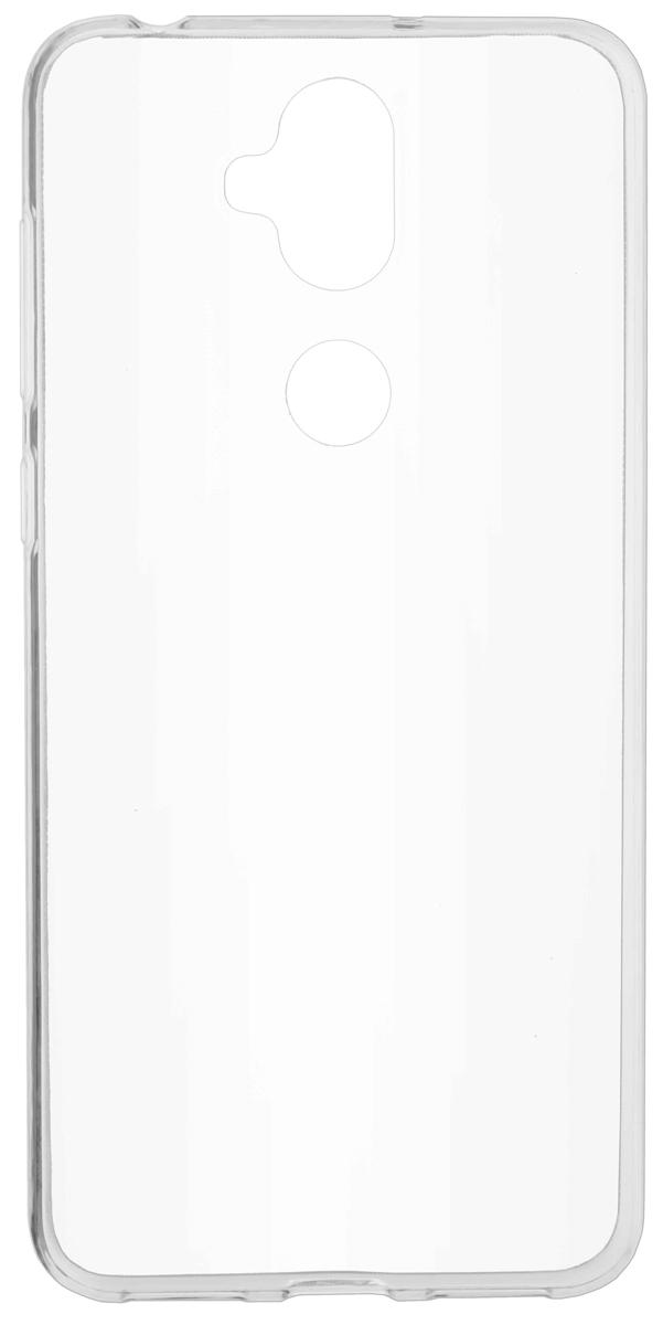 Skinbox Slim Silicone 4People чехол для Asus ZenFone 5 Lite ZC600KL, Transparent skinbox slim silicone 4people чехол для huawei y9 2018 transparent