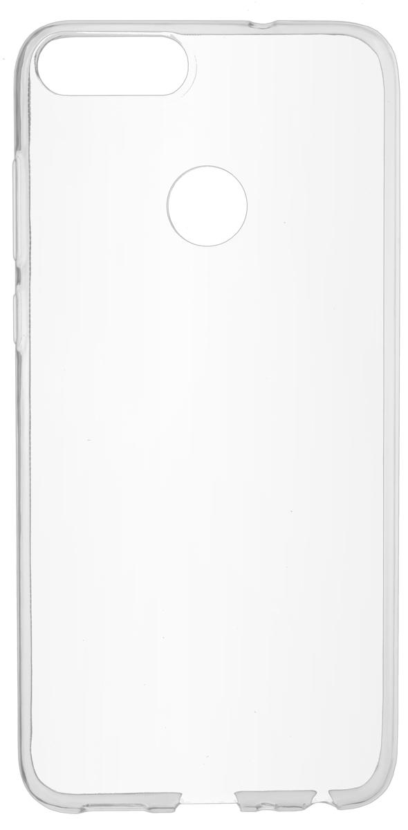 Skinbox Slim Silicone 4People чехол для Huawei  Smart/ Enjoy 7S, Transparent