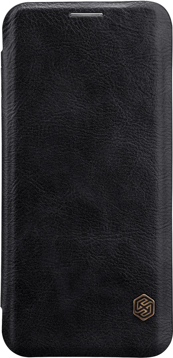 Nillkin Qin Leather Case чехол для Samsung Galaxy S9 Plus, Black цена и фото